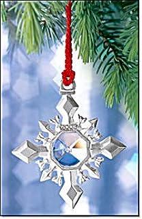 Avon Pewter Christmas Ornament Box /& Pouch 2000