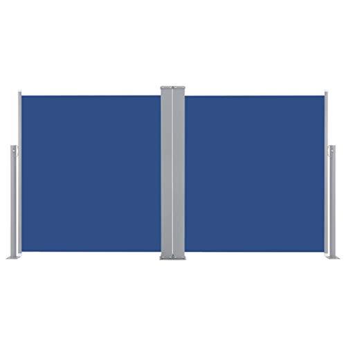 Pantalla de Alta Privacidad de 180X600cm VEVOR Toldo Solar Retr/áctil Protector Solar a Prueba de Viento para Patio Jard/ín Negro
