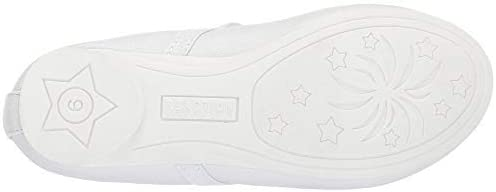 Kids Kenneth Cole Reaction Girls Copy Tap 2 Fabric Slip On Ballet Flats