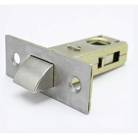RMENOOR 5 jeux de haute qualit/é Fermoir en alliage de porte tubulaire mortaise 45 mm serrure excentrique serrure de porte de porte de chambre pour porte dappartement avec verrou de porte /à plaque