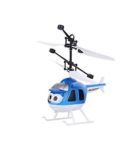 CHwares RC Infrarot Induktionsflugzeug Kinder Spielzeug Handgesteuerte Quadcopter Infrarot-Induktions-Flying Ball mit LED Fliegendes Spielzeug Geschenke Fliegender Ball,UFO Mini Drohne