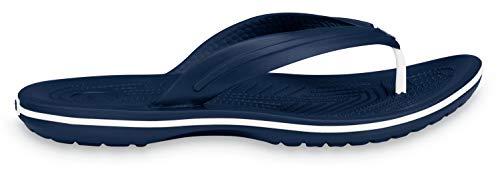 Crocs Crocband Flip Flop, Navy, Men's 8, Women's 10 Medium