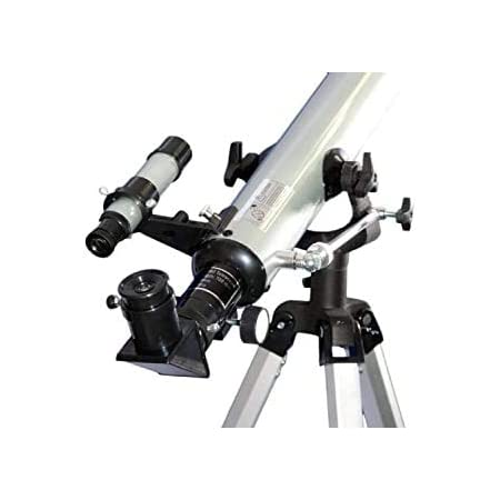 SSEA Telescope 525x Multiple Magnification Options, 56X, 168X, 175X, 525Xpower with 3 Multi Power Eye psc mod 60700 Zoom Refractor Telescope