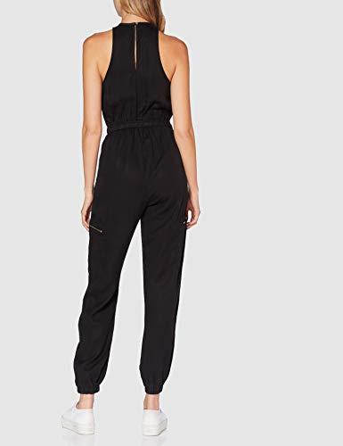 Superdry Damen Kaya Utility Jumpsuit, Schwarz (Black 02A), S (Herstellergröße:10) - 5
