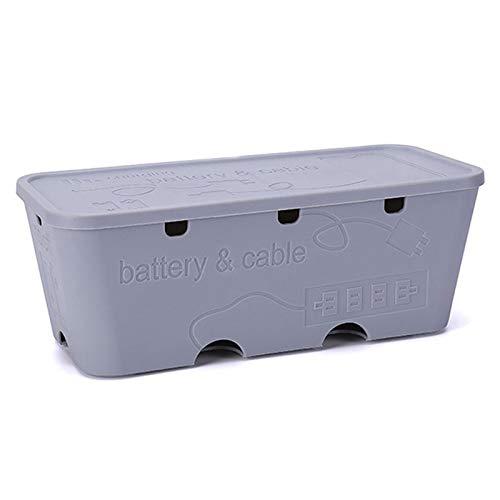 ZYHA Cable Tidy Storage Box Caja de administración de Cables,Organizador de administración...