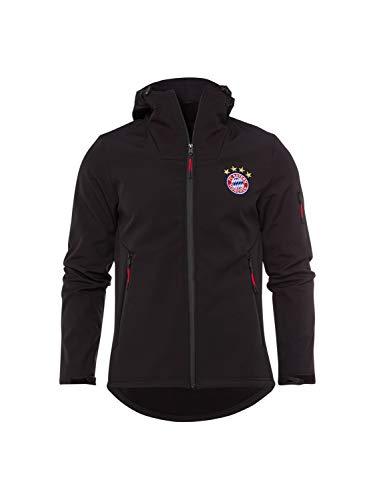 FC Bayern München Softshelljacke schwarz, 3XL