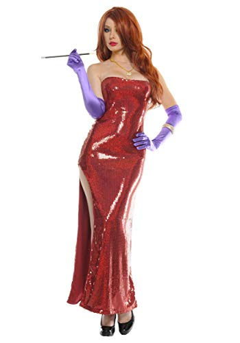 Plus Size Exclusive Deluxe Sequin Hollywood Singer Fancy Dress Costume 1X/2X