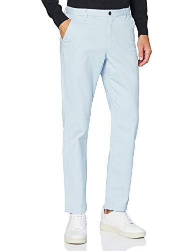 Amazon-Marke: MERAKI Herren Baumwoll Regular Fit Chino Hose, Blau (Kaschmirblau), 33W / 32L, Label: 33W / 32L