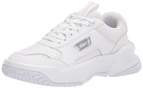 Lacoste Women's ACE Lift 0320 2 SFA Sneaker, WHITE/WHITE 6.5 M US