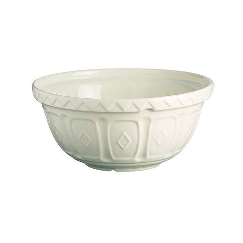 Mason Cash Colour Cream S24 Chip Resistant Earthenware 24cm Mixing Bowl, Stoneware, 2 Litre/24 cm