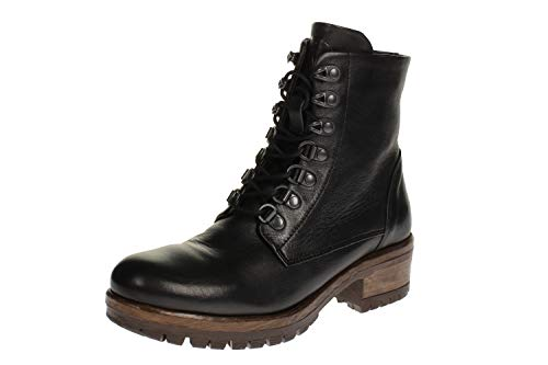 Maca Kitzbühel 2718 - Damen Schuhe Stiefel - Nero-Nappa, Größe:39 EU