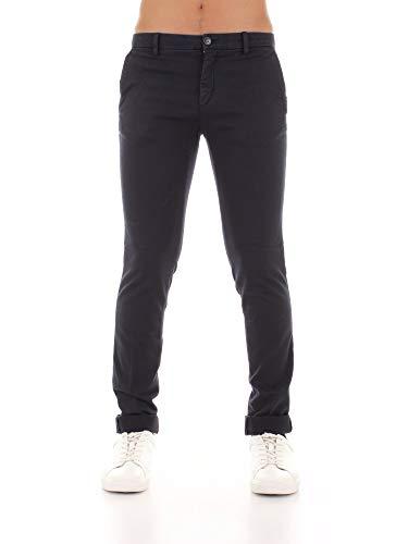 Mason's MILANO-CBE060 Pantaloni Chino Uomo Blu Scuro 44