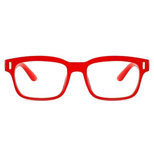 Cyxus Gafas de Filtro de Luz Azul Anti Fatiga de Ojos [Mejor Sueño] Lente Antireflejantes Gafas de Computadora Lentes Transparentes...
