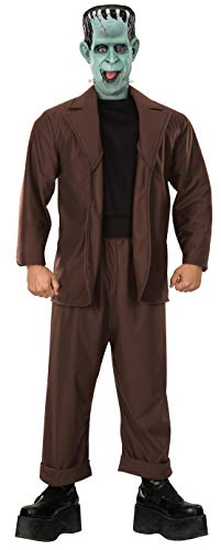 Rubie's The Munsters Adult Herman Munster, Brown, X-Large Costume