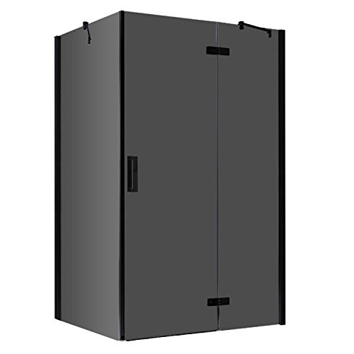 EAGO Dusche LBS1505-B schwarz/150x90/rechts