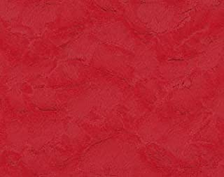 Snuggle Bella Furry Plush Fabric- Red Minky from Michael Miller