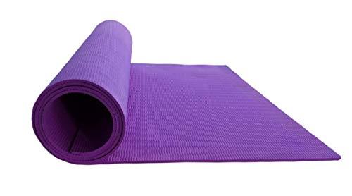 Harilaj Fitness Non Slip Yoga Mat for Workout Exercise (Purple)