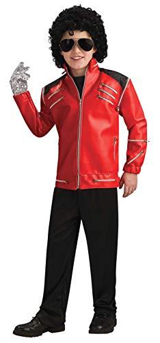 Michael Jackson Child's Deluxe Beat It Zipper Jacket