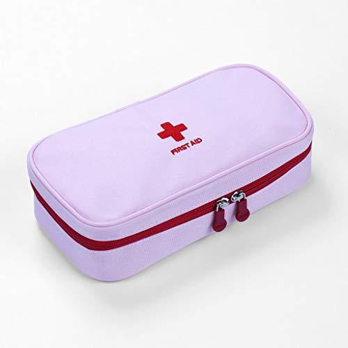 Erste-Hilfe-Tasche für Taschen, Kleine, kompakte Erste-Hilfe-Tasche - Ideal für Zuhause, Wandern, Auto, Camping (Color : Navy)