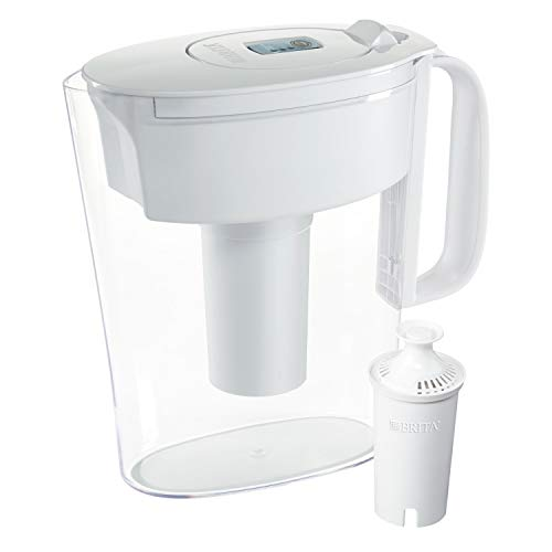 Brita Standard Metro Water Filter Pitcher, Small 5 Cup 1 Count for 15.99