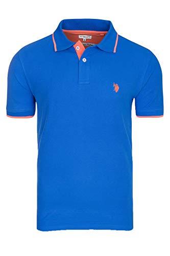 U.S. POLO ASSN. Shortsleeve Polo Shirt Herren Polo-Shirt Polohemd Blau 197 4260851887 173, Größenauswahl:L