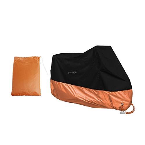WWWL Cubierta de motocicleta naranja cubierta impermeable para Harley Davidson Street Glide