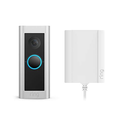 Te presentamos el Ring Video Doorbell Pro 2 con adaptador de enchufe...