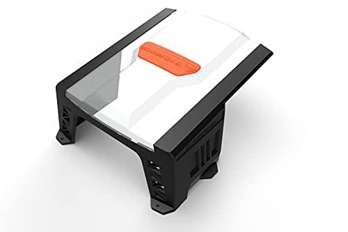 YARD FORCE SH02 Mähroboter-Garage AR SH02-für AMIRO, LUV, X Modelle Roboter-Rasenmäher zum Schutz vor Regen und Sonne, mit Stabiler Konstruktion, schwarz