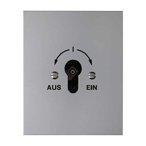 Berker Schlüsselschalter 2p. UP 4416 AQUATEC;DRUCKGUSS Installationsschalter 4011334029007