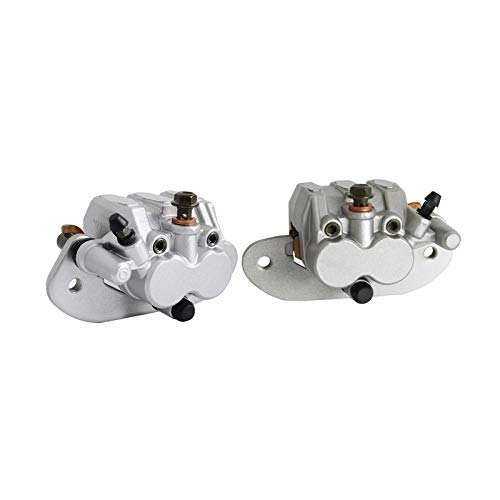 XIAOFANG Hinten Disc Bremssattel Set Links mit Pads gepasst for Yamaha UTV Rhino 450 2004-2007 Rhino 450 2006-2009 Rhino 700 2008-2013 (Color : Multi)