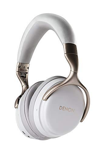 Denon AH-GC25W - Cuffie audio Hi-Res wireless taglia unica bianco