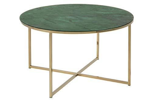 Amazon Brand - Movian Rom - Mesa de centro, 80 x 80 x 45 cm, verde