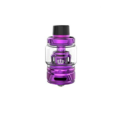 Uwell Crown 4/IV Tank 6ml Innovative Patentierte Selbstreinigungstechnologie, Kein Durchsickern-Vapever Atomizer 2ml- Ohne Nikotin Ohne Tabak, Vapever Atomizer 2ml-Ohne Nikotin Ohne Tabak(Lila)