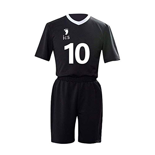 YZJYB Haikyuu Anime Cosplay Uniforme Inarizaki High School Volleyball Uniforme Ropa Deportiva Hinata Shoyo No.10 Jersey Camisas Y Pantalones Set,S
