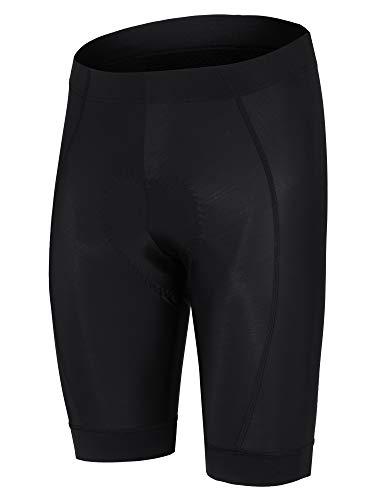 Ziener Herren NAAM X-Gel Fahrrad-Tight/Rad-Hose - Mountainbike/rennrad - Atmungsaktiv|schnelltrocknend|gepolstert, Black, 48