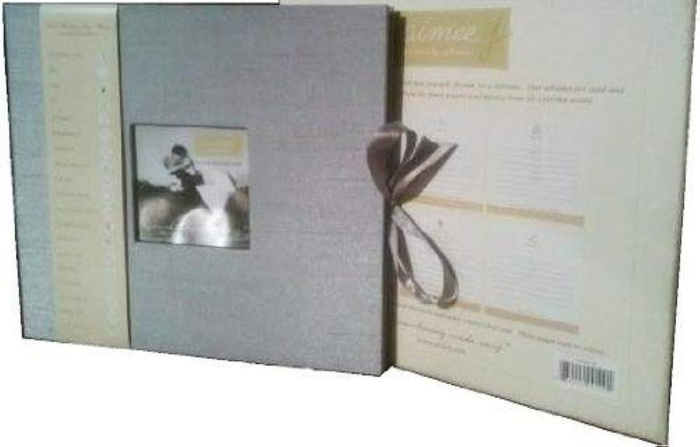 Aimeej Remembering Made Easy Mini Wedding Memory Album - Platinum