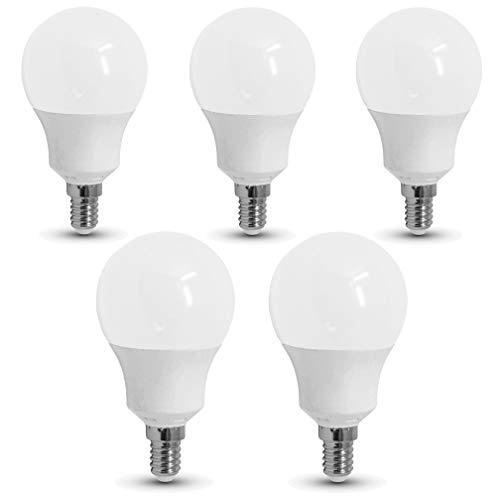 5-er Pack - ZONE LED SET - E14-9W - LED Birne - Tageslicht (4000K) - 806 Lm - Entspricht 60W - SAMSUNG Chip`s - Abstrahlwinkel 200°