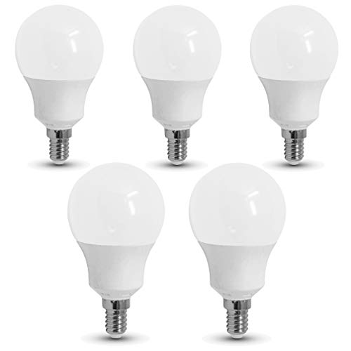 5-er Pack - ZONE LED SET - E14-9W - LED Birne - Warmweiss (3000K) - 806 Lm - Entspricht 60W - SAMSUNG Chip`s - Abstrahlwinkel 200°