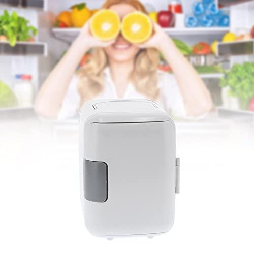 Meiyya Refrigerador de medicamentos para el hogar, refrigerador de Almacenamiento de medicamentos Blanco, refrigerador, congelador, Peso Ligero 4L para campamentos de Verano para 5-65 ℃ para