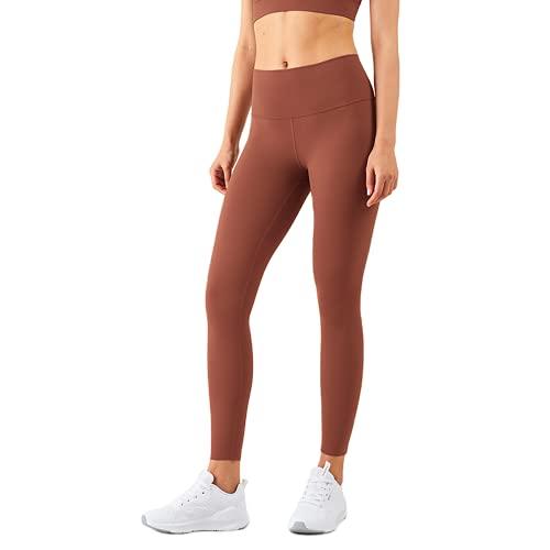 QTJY Pantalones de Yoga Suaves de Cintura Alta para Mujer, Pantalones de Fitness elásticos y de Secado rápido, Leggings, al Aire Libre, Pantalones para Correr AL