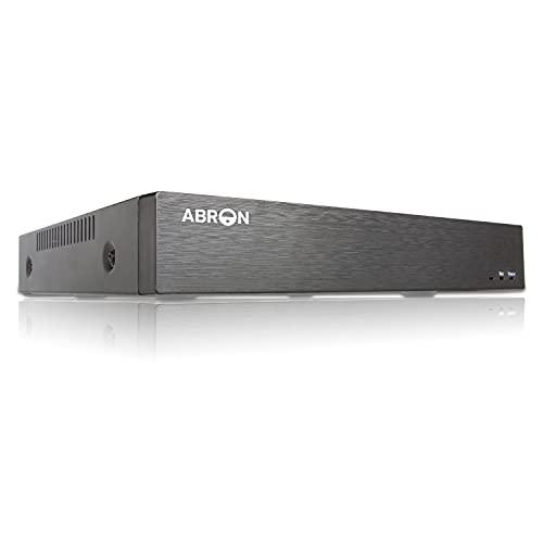Abronis 16 Canales 5M-N DVR, 16CH 5-en-1 Grabadores DVR, Compatible con Cámaras de Seguridad AHD/TVI/CVI/CVBS/IP, H.265+ CCTV P2P Detección de Movimiento Acceso Remoto(sin Disco Duro)