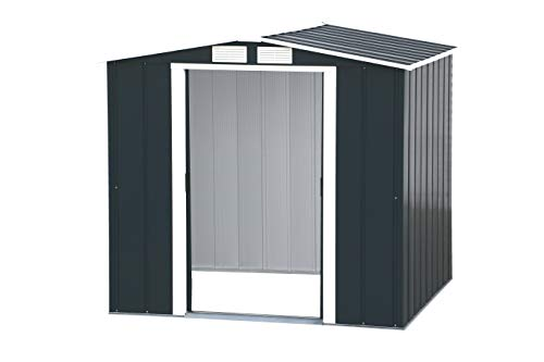 Duramax Caseta de jardín Riverton 6x6 Incluye Kit de extensión + Kit de Suelo + Extensión de Suelo. Medidas: Fondo 1.831 mm. x Ancho 2.015 mm. x Alto 1.895 mm.