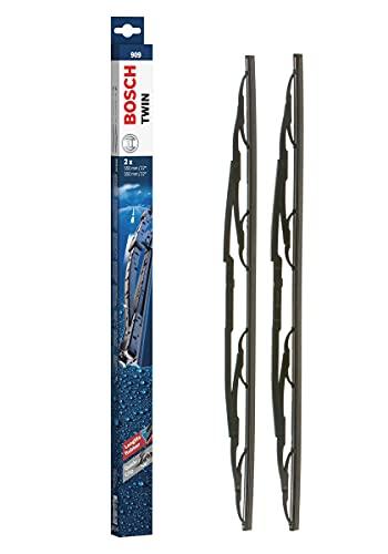 Bosch Twin Escobilla limpiaparabrisas 909, Longitud: 550 mm 550 mm – 1 juego para el parabrisas (frontal)