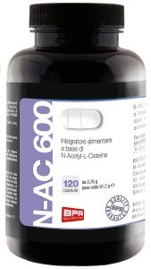 BPR - N-AC 600 - N-Acetyl-L-Cisteina - 120caps