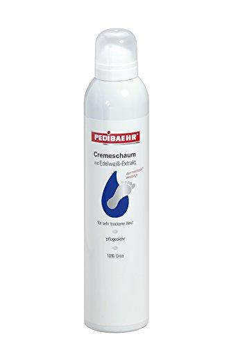 PEDIBAEHR - Cremeschaum mit Edelweißextrakt 10% Urea, 300ml