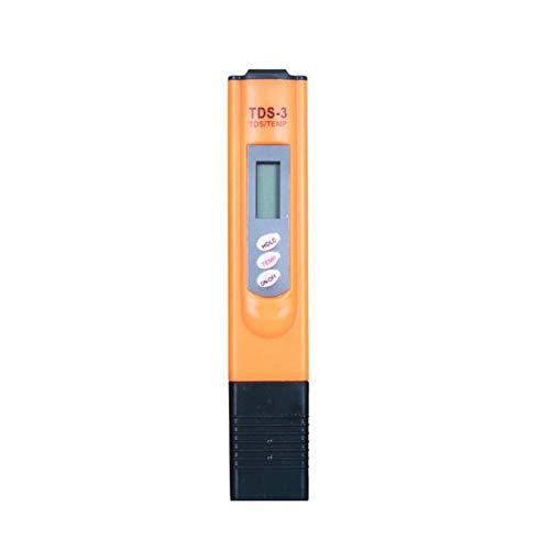 SZLX 1Pc Protable LCD Digital TDS PH Meter Pluma de probador Precisión Acuario Piscina Agua Vino Calibración automática Medición- Oro