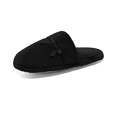 DREAM PAIRS Women's House Memory Foam Fuzzy Fluffy Faux Fur Soft Slip On Indoor Slippers