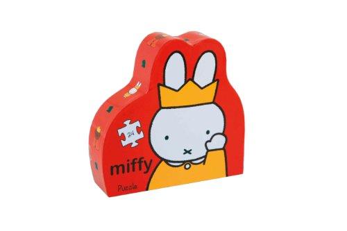 Miffy - Puzzle silueta El castillo (Barbo Toys 9921) (BASE TOYS)