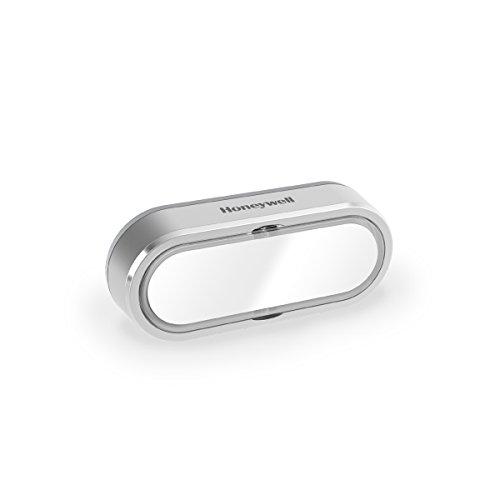 Honeywell Home Funk-Namensschild-Klingeltaster mit LED-Funktionsanzeige, grau, DCP911G