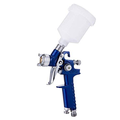 XHNXHN Aire de alimentación por Gravedad de Pistola pulverizadora, H-20P con Boquilla de 0,8 mm y plástico de 600 ml Debajo de la regadera para pulverizador pequeño, diámetro de Boquilla, 1,0